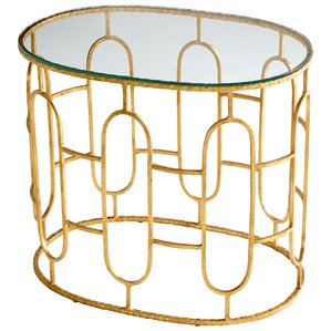 Carmelina End Table by Cyan Design