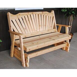 Fanback Glider Bench A&L Furniture