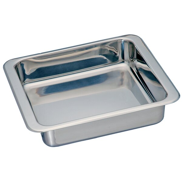 Square Stainless Steel Pan by Honey Can Do
