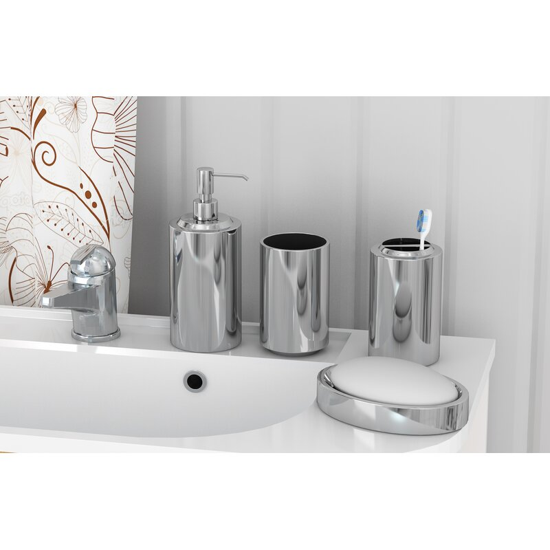 Nagel 4 Piece Bathroom Accessory Set