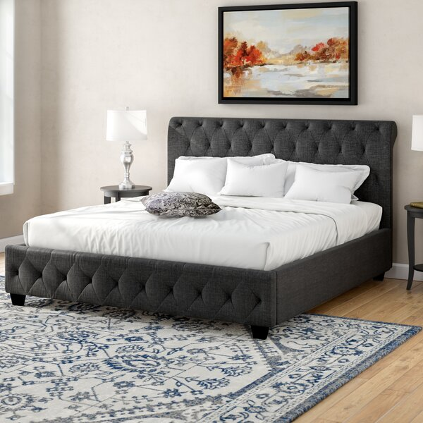 Richardson Upholstered Standard Bed by Charlton Home