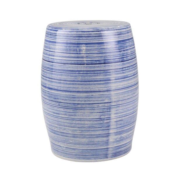 Bercht Ceramic Design Garden Stool by World Menagerie
