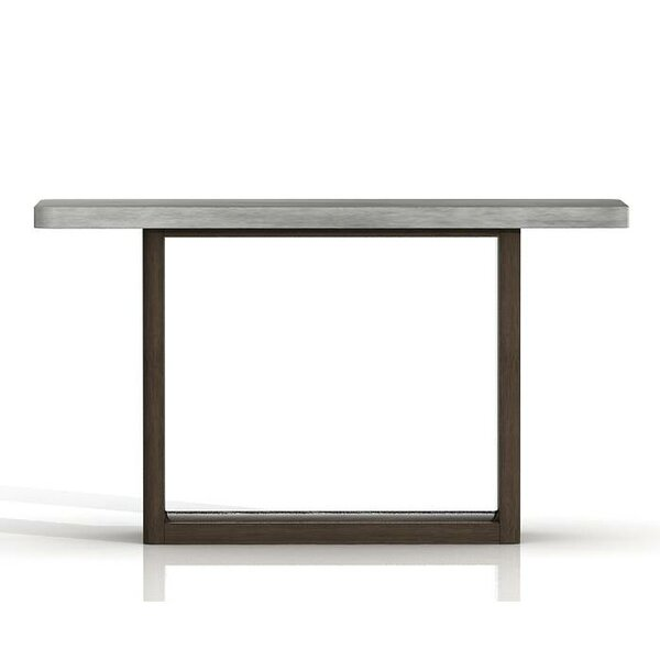 Belmonte Concrete Top Console Table by Foundry Select