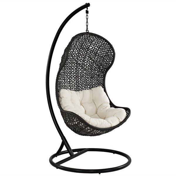 Gamble Swing Chair with Stand by Modway