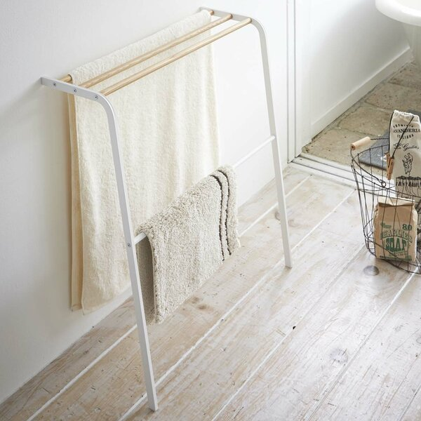 Jamari Leaning Wall Mounted Towel Rack by Corrigan Studio