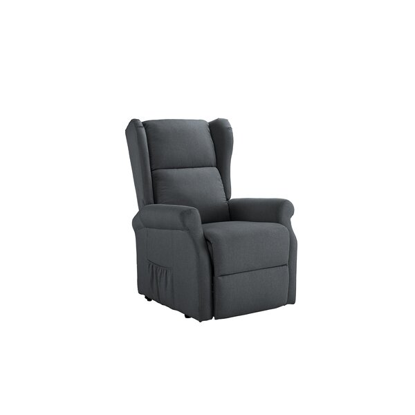 Lade Power Manual Lift Assist Recliner by Winston Porter