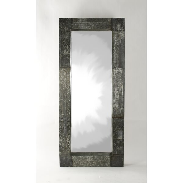 Dubreuil Patched Recycled Metal Full Length Mirror by 17 Stories