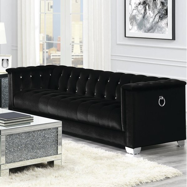 Valuable Brands SOFA, BLACK by Coaster by Coaster