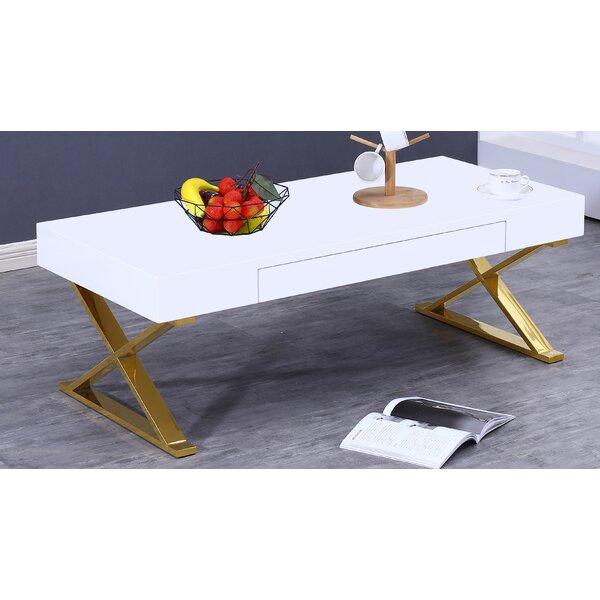 Sandlin Coffee Table with Storage by Orren Ellis Orren Ellis