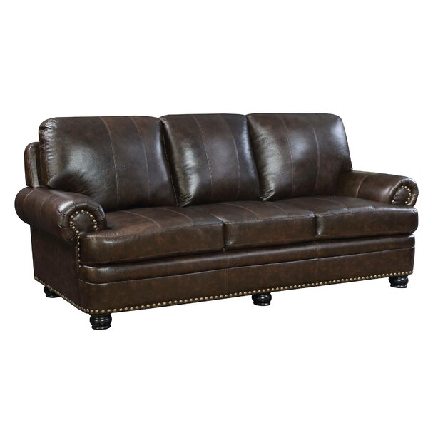 Proulx Leather Sofa By Red Barrel Studio