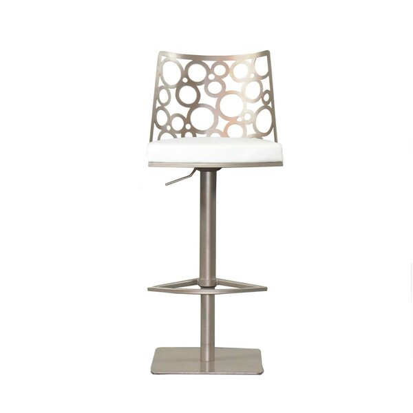 Levine Adjustable Height Swivel Bar Stool by RMG Fine Imports