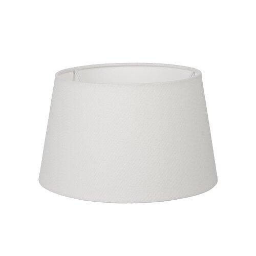 25 cm Lampenschirm aus Leinen 17 Stories Farbe: Weiß | Lampen > Lampenschirme und Füsse | 17 Stories