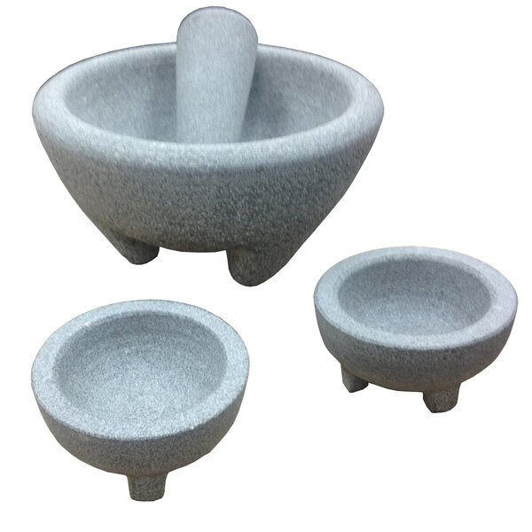 Global Kitchen Mortar and Pestle Set by IMUSA