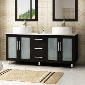 Swearingen 58 Double Bathroom Vanity Set