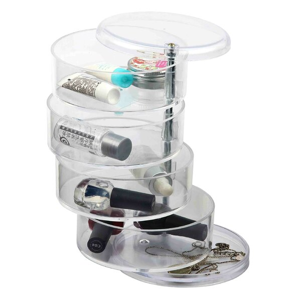 4 Section Swivel Cosmestic Organizer by Home Basics