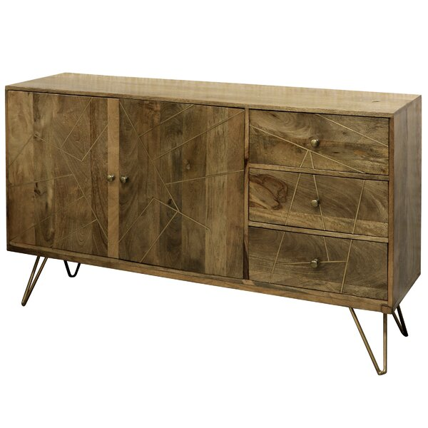 Driver 3 Drawer Credenza by Union Rustic