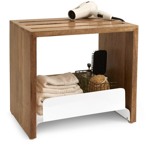 Driftwood 19.75 W x 18.25 H Bathroom Shelf by Paradigm Trends