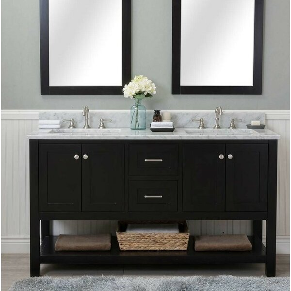 Furlow 60 Double Bathroom Vanity Set by Red Barrel Studio