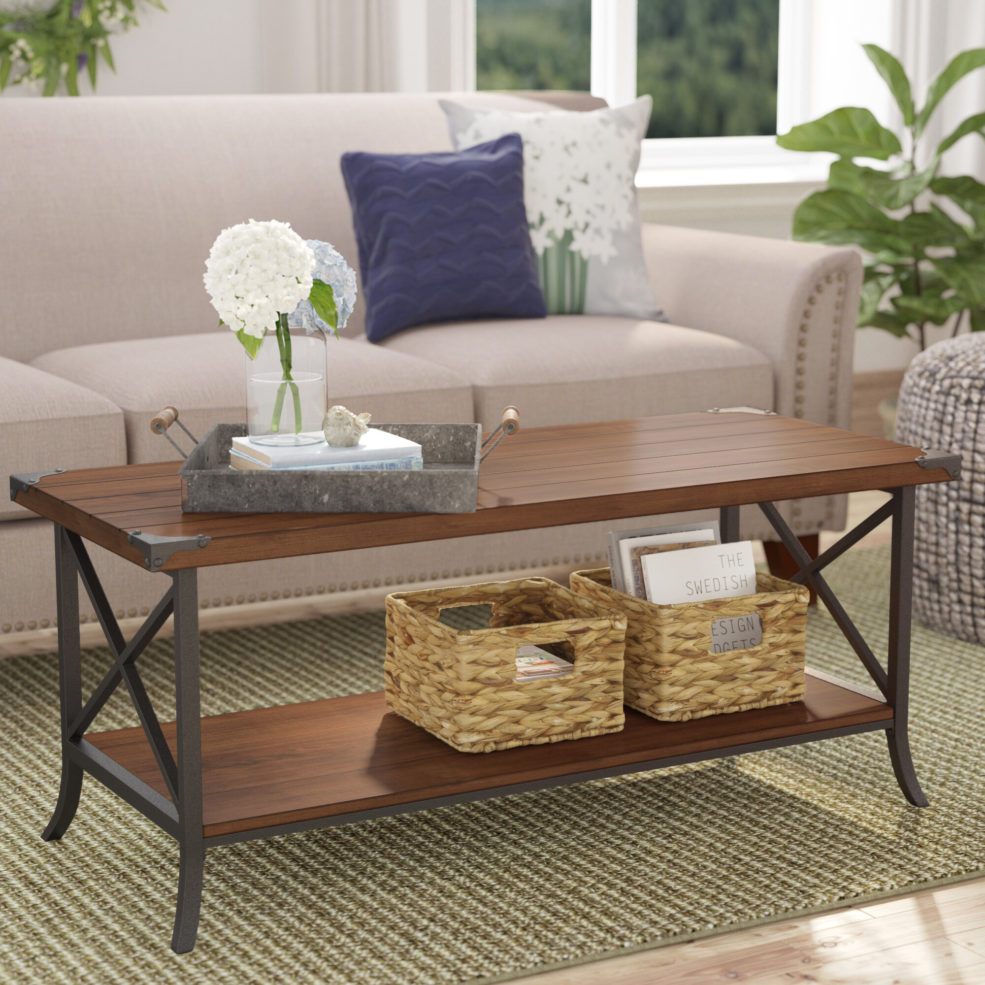 Table A Langer D Angle justina coffee table