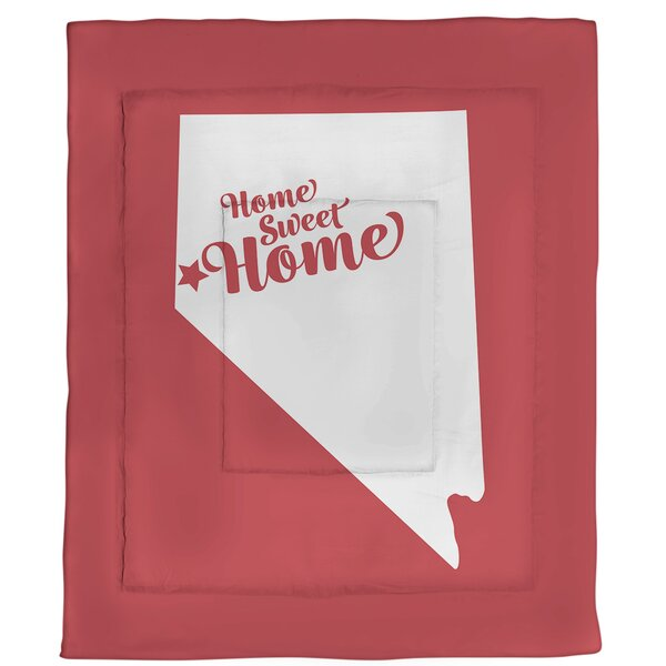 Reno Home Sweet Single Reversible Comforter