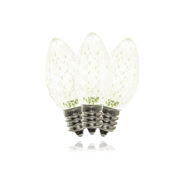 Warm White LED Twinkle Light Bulb (Set of 25) by Queens of Christmas