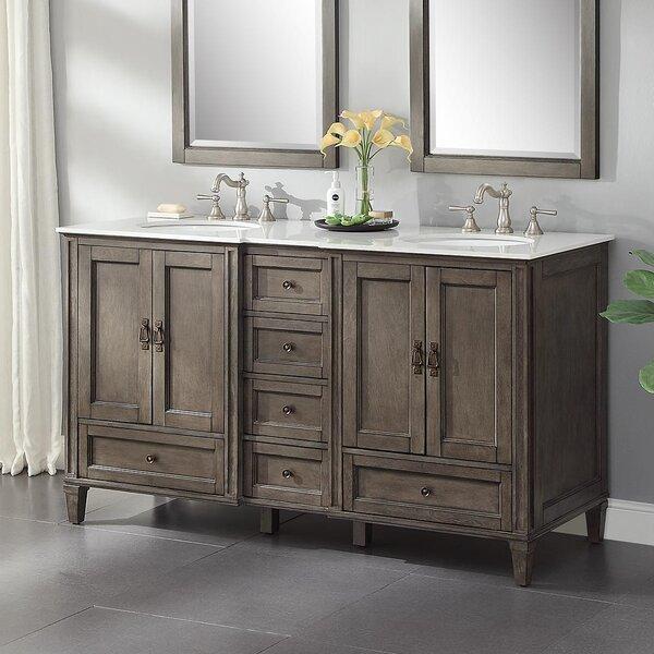 Gerlef 62 Double Bathroom Vanity Set