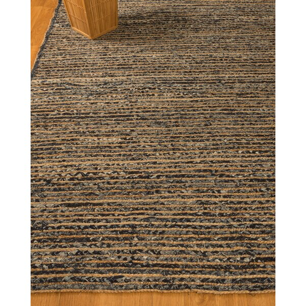 Riggins Hand-Woven Camel/Gray Area Rug by Natural Area Rugs