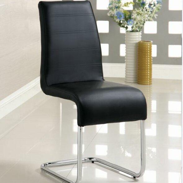 Upholstered Dining Chair (Set of 2) by Orren Ellis