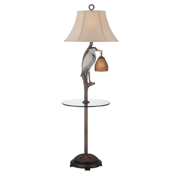 Merida Heron 62 LED Traditional Floor Lamp by Highland Dunes