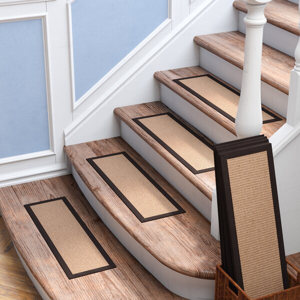 Clayfield Taupe Stair Tread (Set of 13) by Red Barrel Studio