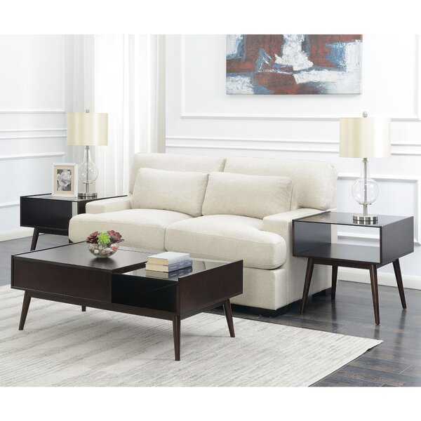 Ibrahim 3 Piece Coffee Table Set by Corrigan Studio