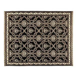 Compare & Buy One-of-a-Kind Eclectic Hand-Knotted Black Area Rug By Darya Rugs