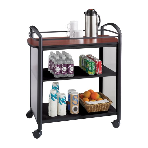 Lemelin Beverage Utility Cart by Symple Stuff
