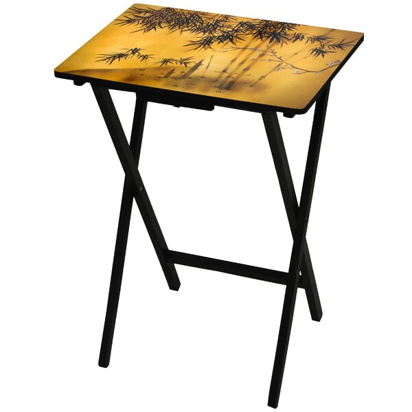 Bamboo Tree TV Tray by Oriental Furniture