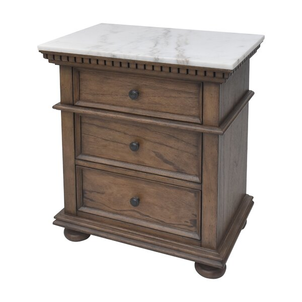 Rawlins Drawer Nightstand by Darby Home Co