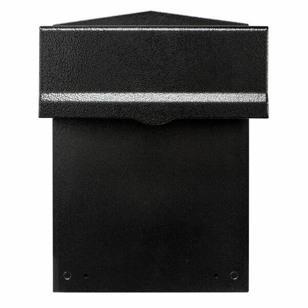 Liberty Rear Access Locking Wall Mounted Mailbox by Qualarc