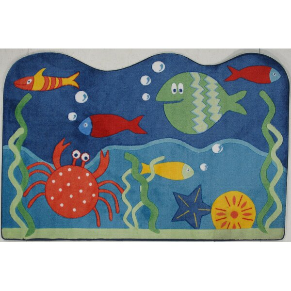 Supreme Under World Blue Area Rug by Fun Rugs