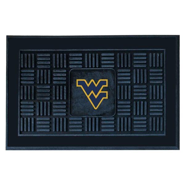 NCAA West Virginia University Medallion Door Mat by FANMATS