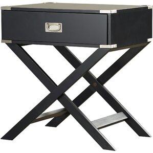 Black Bedroom End Tables | Wayfair