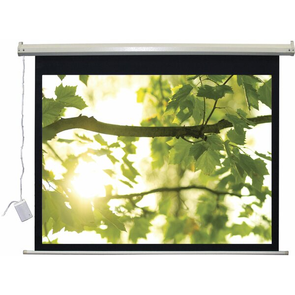 Lectro IR QM A Series Matte Black Electric Projection Screen by Vutec