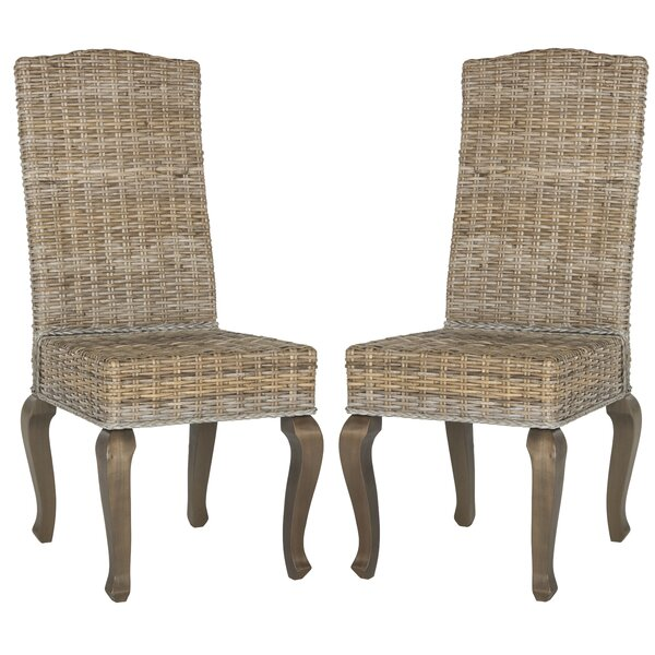 Sephina Side Chair in Gray (Set of 2) by One Allium Way One Allium Way