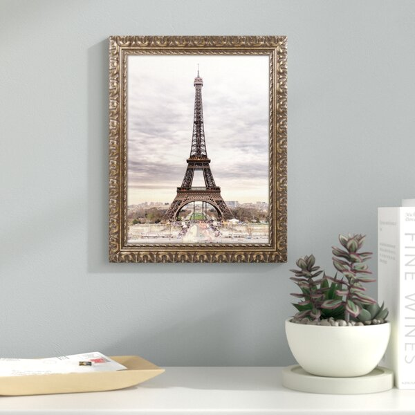The Eiffel Tower Framed Photographic Print by Latitude Run