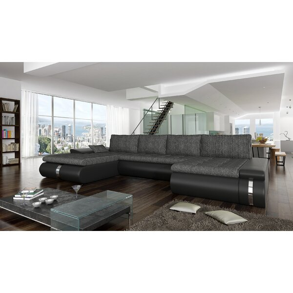 Free Shipping Peugeot Reversible Sleeper Sectional