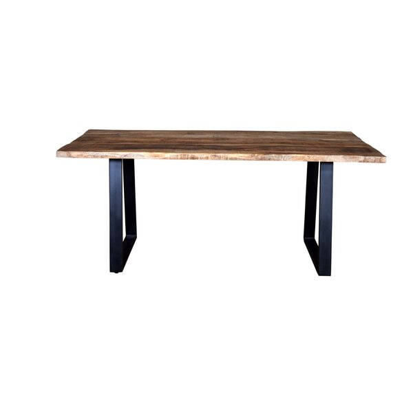 Naia Live Edge Dining Table by Millwood Pines