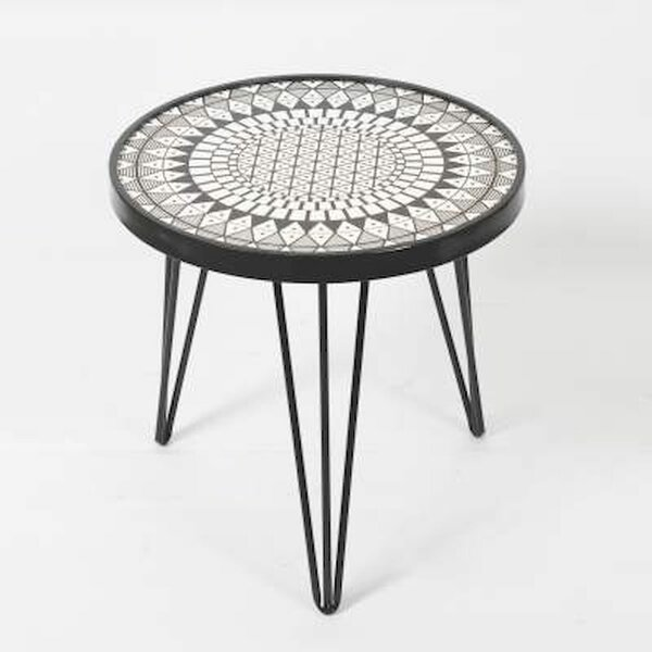 Gaynelle 3 Legs End Table By World Menagerie