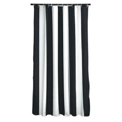 Fagin Stripes Shower Curtain by Breakwater Bay
