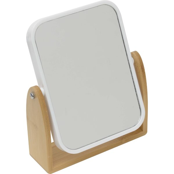 Magnifying Dual-Sided Pivoting Makeup/Shaving Mirror by Evideco
