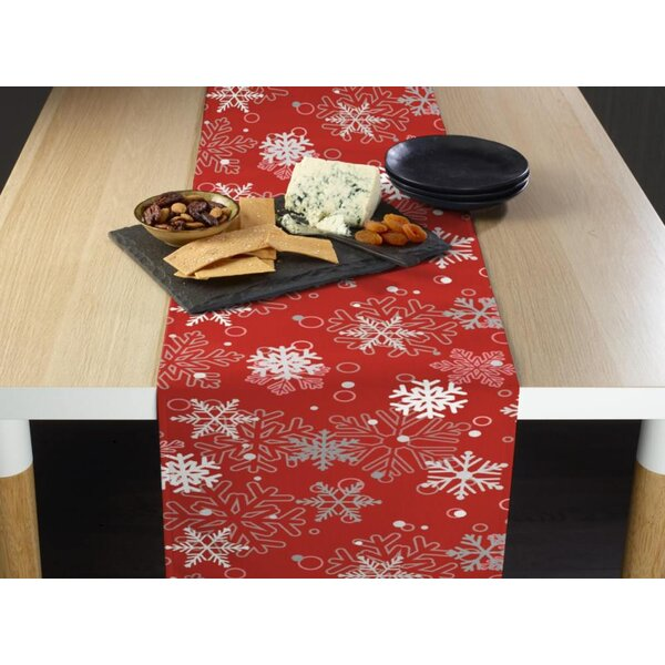 Eustis Winter Snowflakes Table Runner by The Holiday Aisle