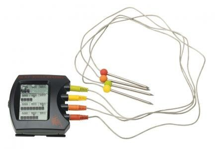 Steak Station Digital Meat Thermometer by Bull Out