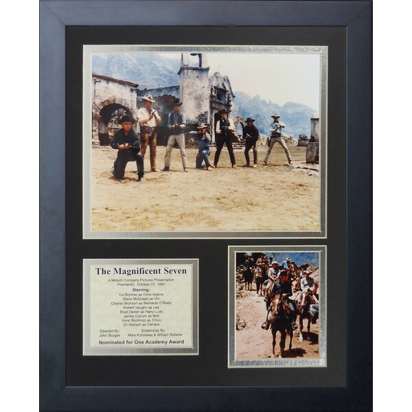 The Magnificent Seven Framed Memorabilia by Legends Never Die